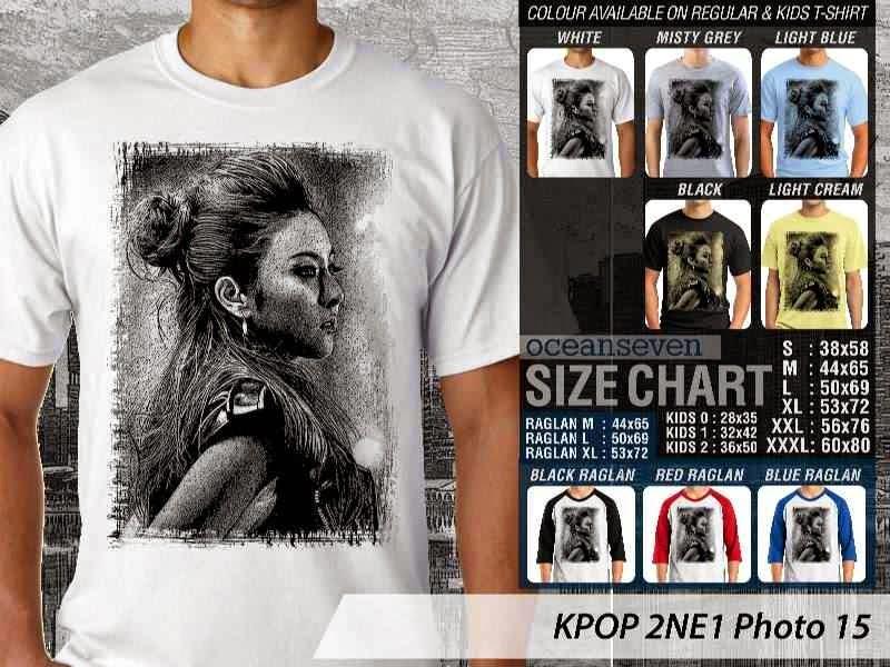 Kaos 2ne1 15 Photo K Pop Korea distro ocean seven