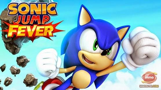 لعبة سونيك جمب Sonic Jump Fever للأندرويد