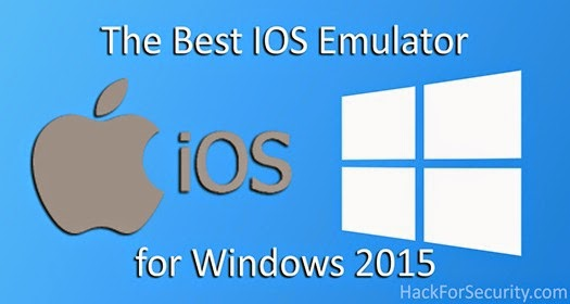 The Best IOS Emulator for Windows 2015