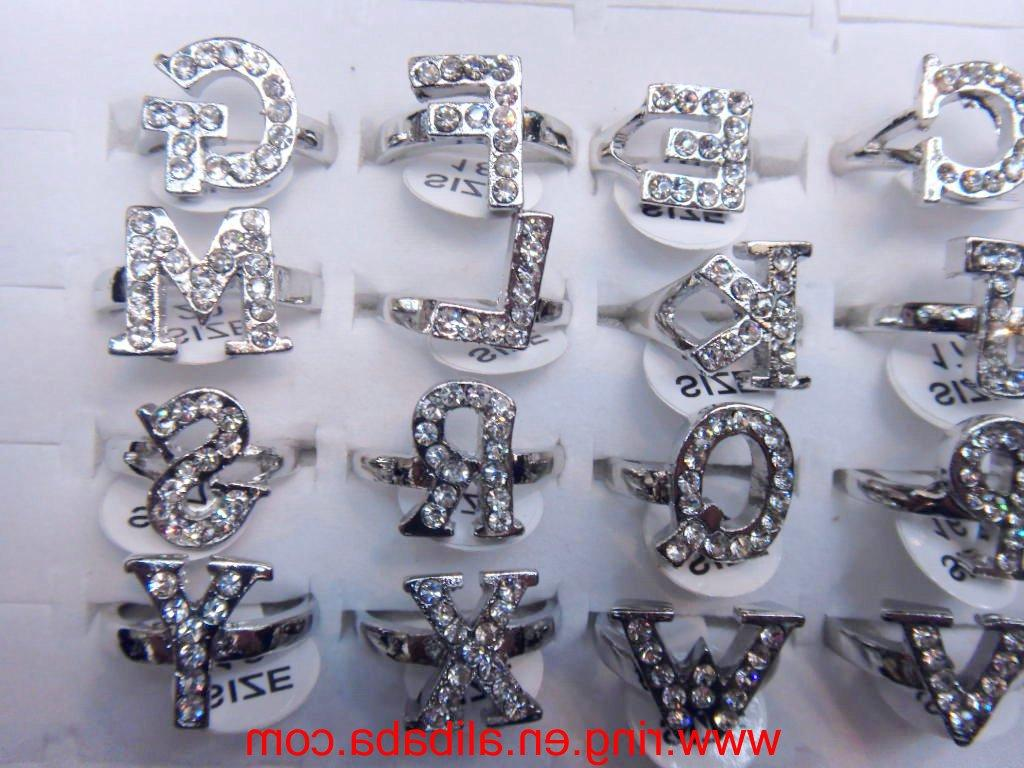 charming Crystal rhinestone wedding rings jewelry rings