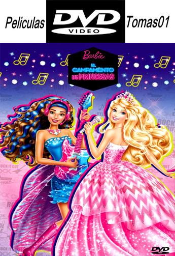 Barbie: Campamento de Princesas (2015) DVDRip