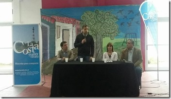 El intendente Juan Pablo de Jesús encabezó la apertura de la Capacitación en Turismo que se hizo en Costa del Este