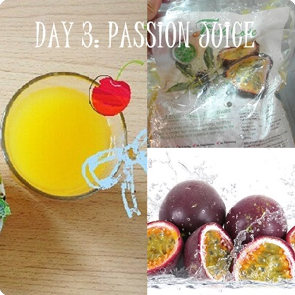 Fresh Code passion juice