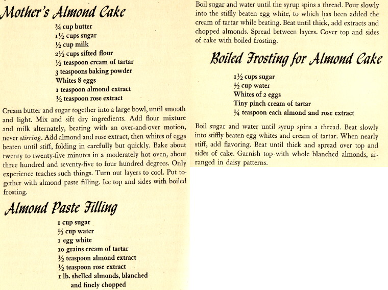 Mother's Almond Cake