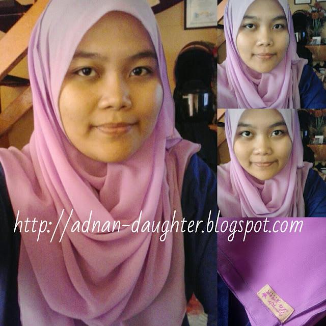 shawl murah, shawl senang bentuk, shawl cantik dan murah