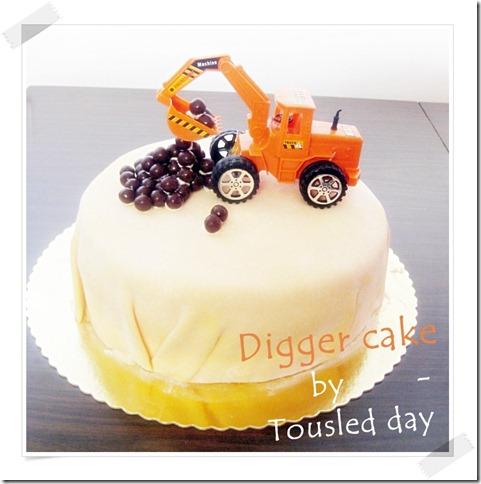 Digger cake 3