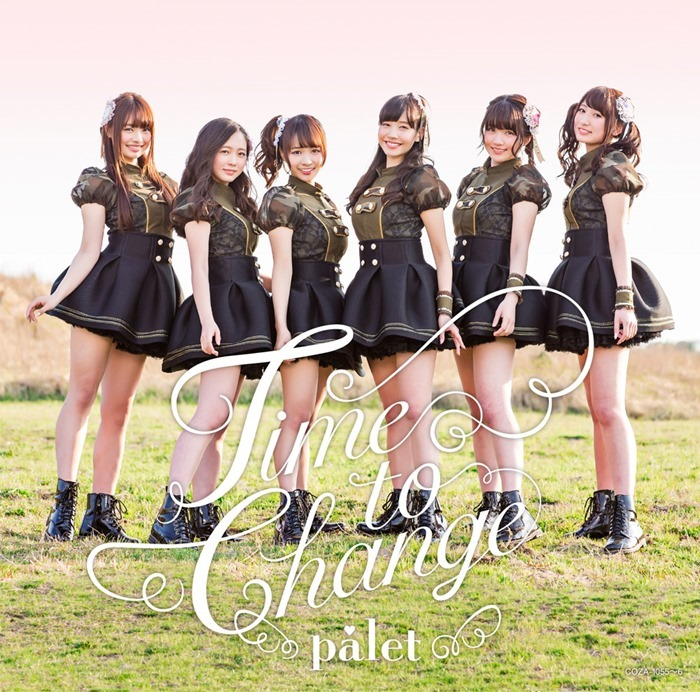 Palet – Time to Change cover