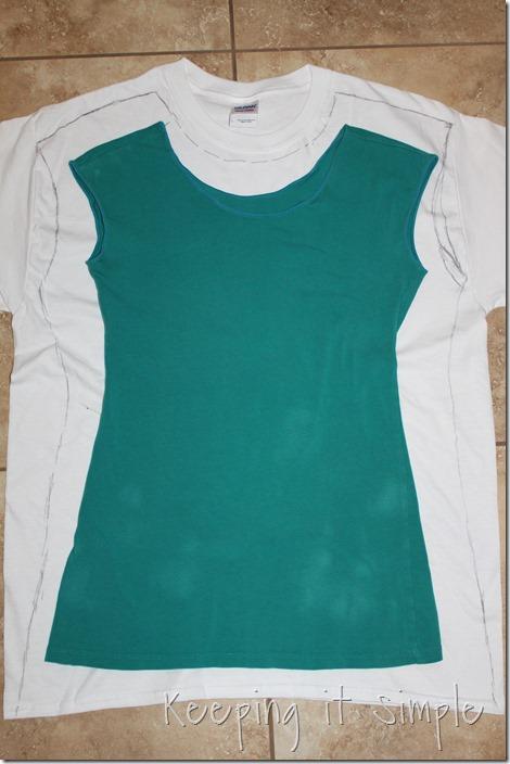 #ad DIY-Ombre-Tie-Dye-Shirt-Refashion (4)