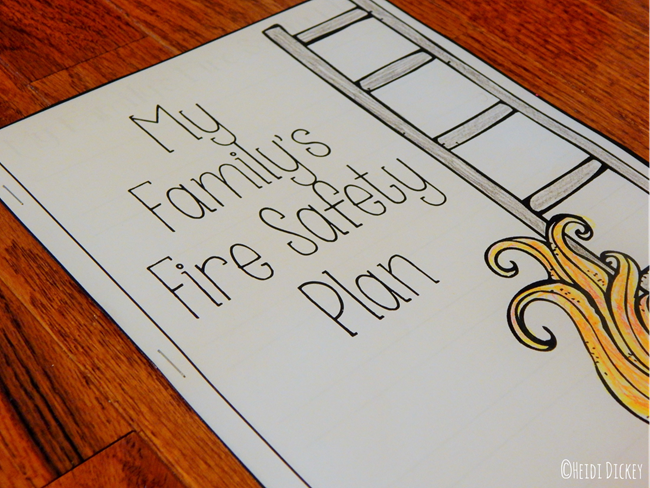 Family Fire Safety Plan