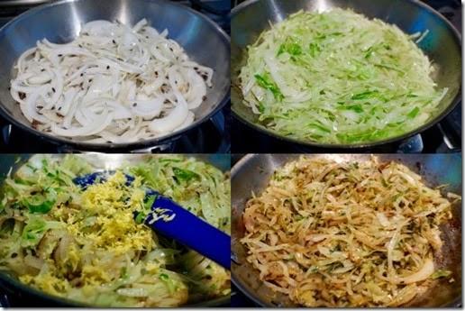 cabbage stir fry composit