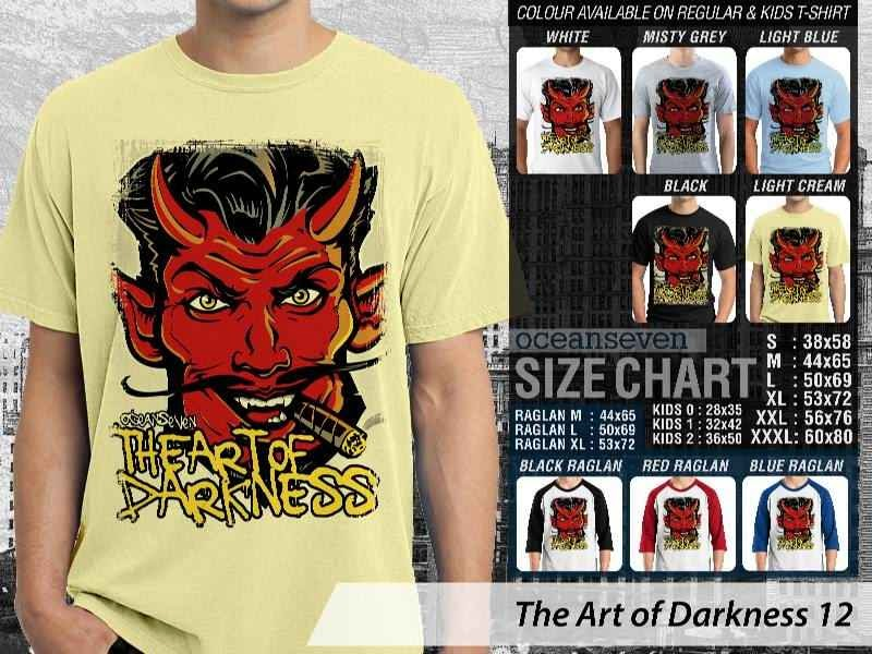 Jual KAOS Grunge iblis setan satan The Art of Darkness 12 distro ocean seven