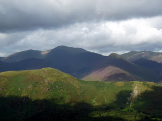 Over Catbells to Newlands Fells