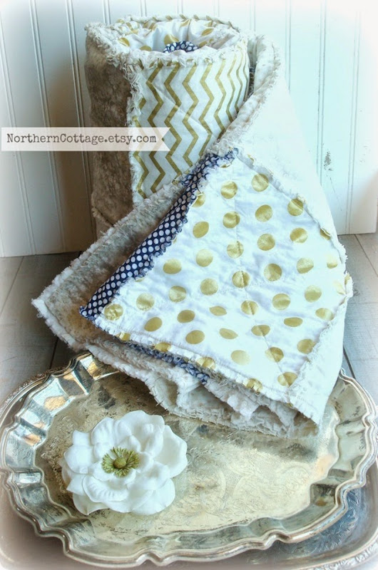 {NorthernCottage} Fancy Wedding Quilt[5]