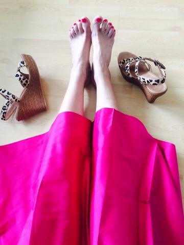 Eine liebe Mail und ein Traumrock in Pink