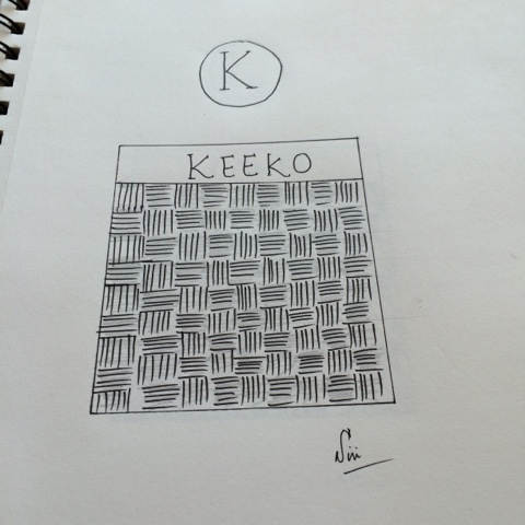 keeko zentangle