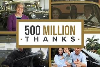General Motors :La barre des 500 millions de véhicules franchie
