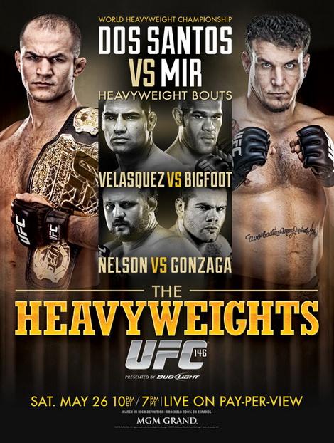 UFC 146: Junior Dos Santos - Frank Mir (26.05.2012) PL.TVRip.XviD / PL
