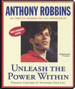 Cover of Anthony Robbins's Book Unleash The Power Within Workbook