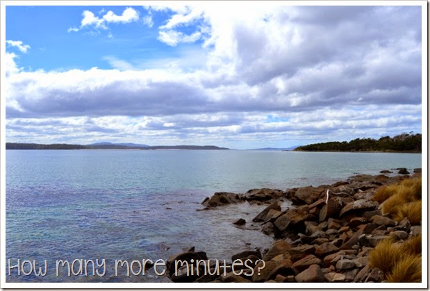 How Many More Minutes? ~ Fishers Point Walk, Tasmania, part one