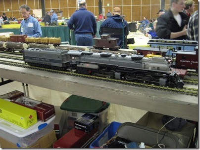 IMG_5924 Union Pacific 4-6-6-4 #3917 on the Rose City Garden Railway Society's G-Gauge Layout at the Great Train Expo in Portland, Oregon on February 14, 2009