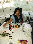 Fialka Grigorova--lunch by the water, Annapolis, the State Capital of Maryland.