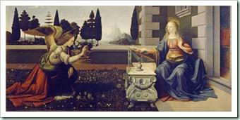 annunciation Leonardo_da_Vinci_-_Annunciazione_-_Google_Art_Project