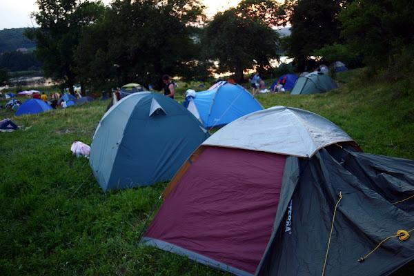 Woodstock Ukraine 2014 палаточный городок
