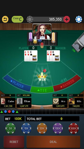 World Baccarat King - screenshot