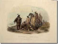 Karl Bodmer-Crow Indians