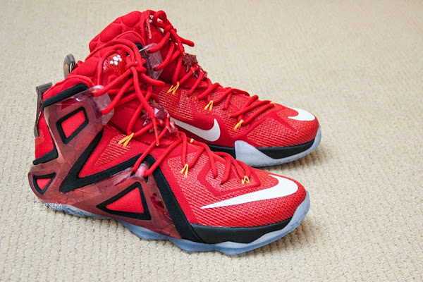 LEBRON 12 Elite 8220Ignite8221 8211 Up Close amp Personal amp Onfeet