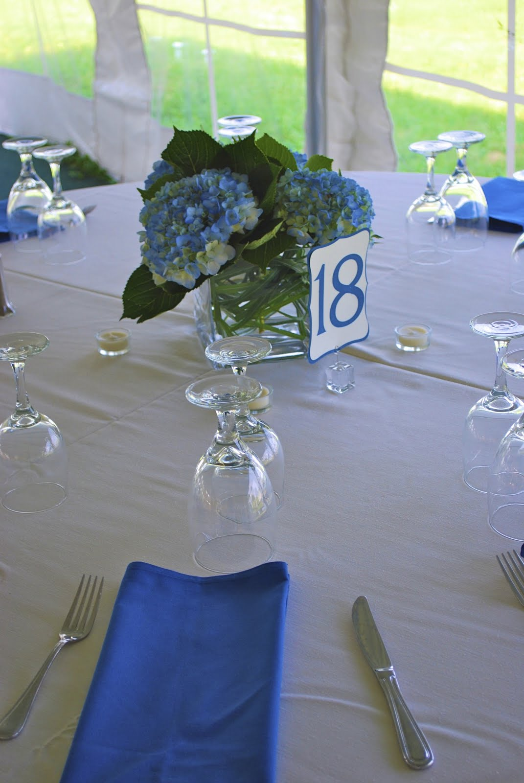 Samans Blog Hydrangea Wedding Centerpieces