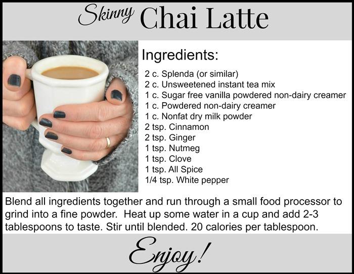 Chai Latte recipe2