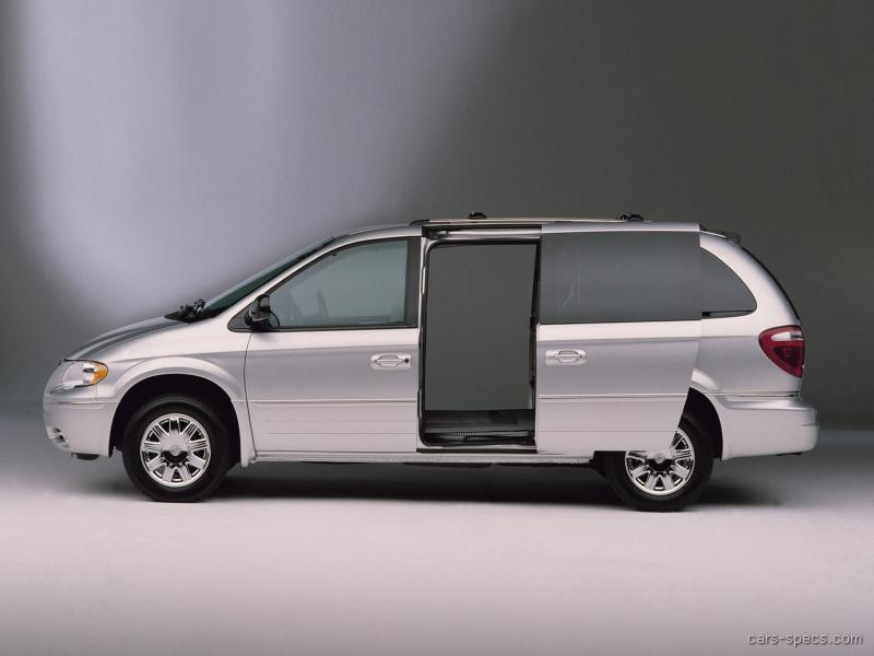 2005 chrysler town and country minivan specifications pictures. Cars Review. Best American Auto & Cars Review