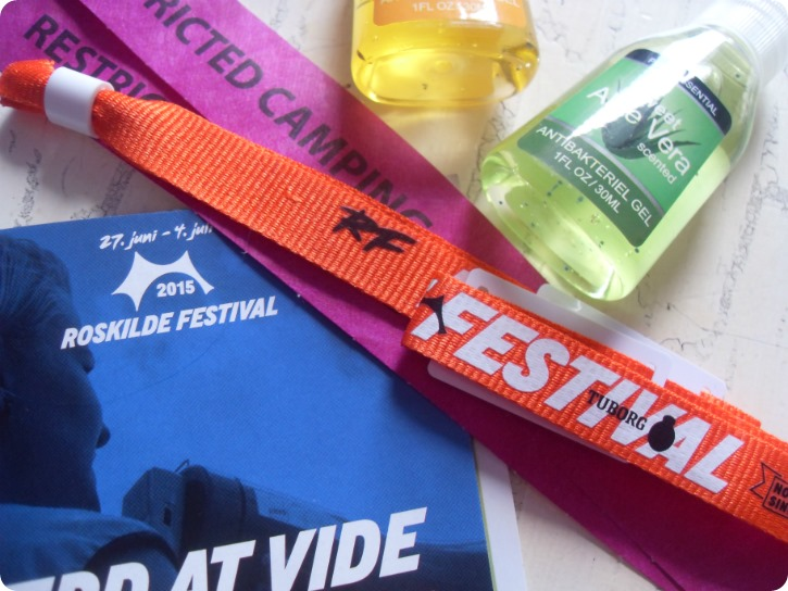 Klar til Rosklide festival 2015