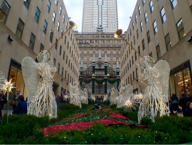 Rockefeller Center in winter