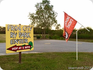 Frog City RV Park Duson LA 10142015