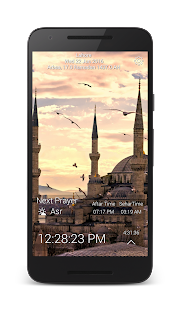 Adhan time Pro-Ramadan 2016 - screenshot