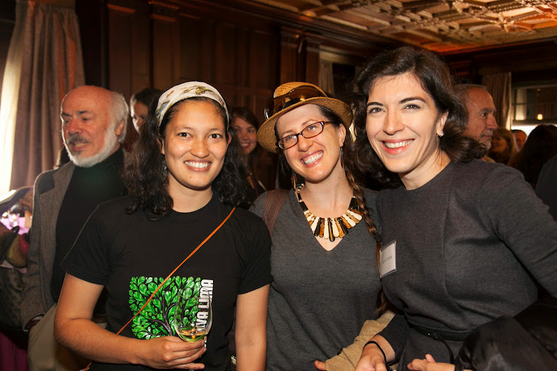 Friends with Marsela Pecanac, New Resource Bank. September 25, 2013; San Francisco, CA, USA; Photo by Eric Slomanson / slomophotos.com