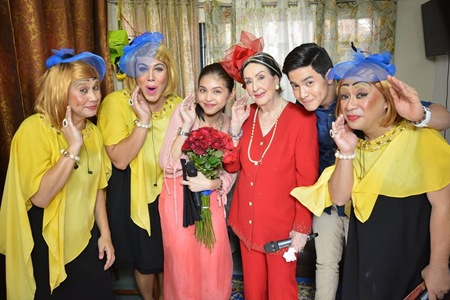 Gloria Romero joins the cast of Eat Bulaga's KalyeSerye