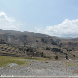 Patchwork no campo - Avenida dos Vulcões, rumo a Baños, Equador