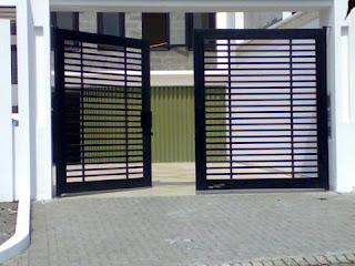 contoh model pagar rumah minimalis