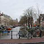 canals in Amsterdam, Noord Holland, Netherlands