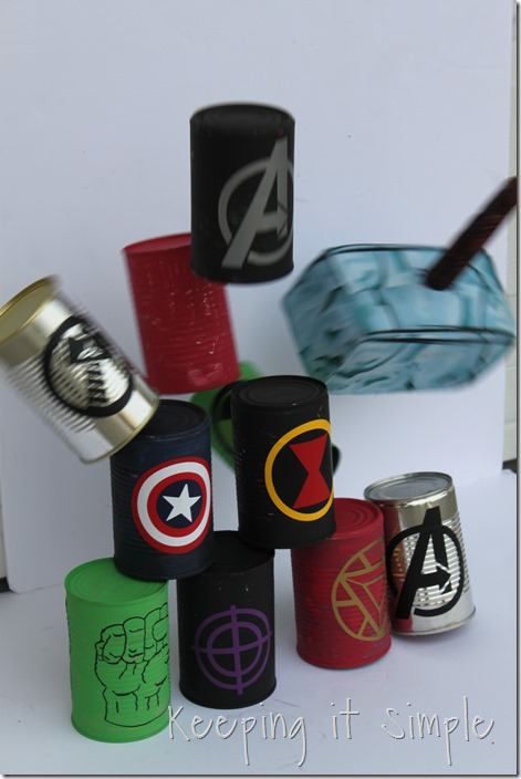 #ad Avengers-Halloween-Party-Game-Bowling-Cans #AvengersUnite (41)