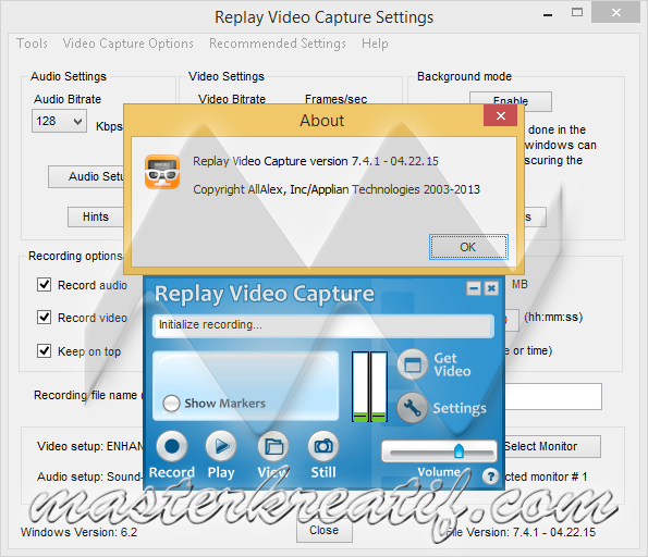 Replay Video Capture 7.4.1