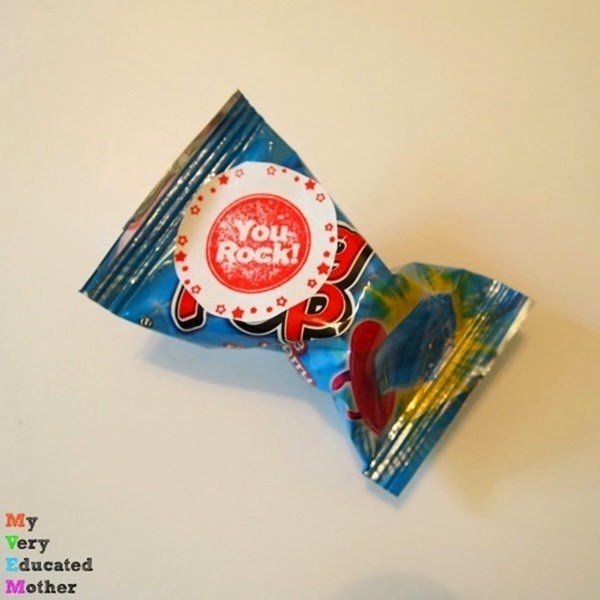 Ring Pop or Pop Rocks Gift Idea using PSA Essentials stamps