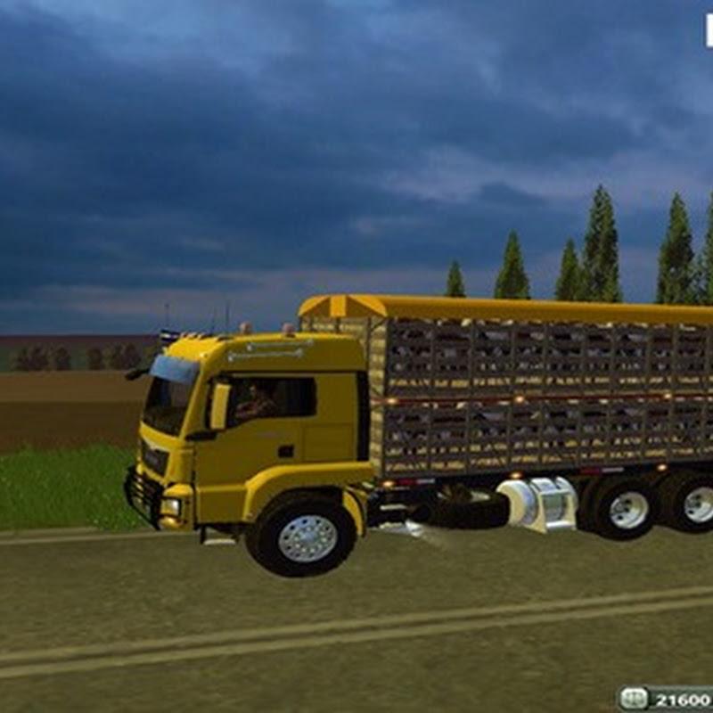 Farming simulator 2015 - Man Ganaderia v 1.0
