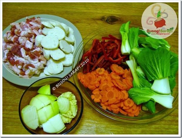 pancit canton prep ingredients© BUSOG! SARAP! 2010