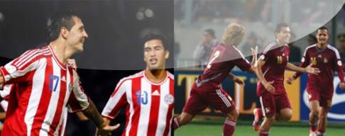 Paraguay vs. Venezuela en VIVO - Eliminatorias Brasil 2014