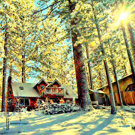 Casa de Tahoe by Brian Blood - Buildings & Architecture Homes ( home, truckee, tahoe, lake, river )