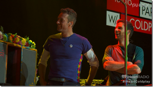 Coldplay iHeartRadio A Head Full Of Dreams album release party-9